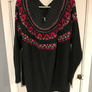 NWT Maurice's off the shoulder sweater